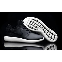 cc19008002979 Roshe Two Low Leather Shoes Black White on We Heart It
