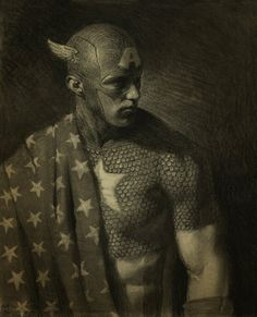 Captain America by Matt Buck (deviantART) (Tasty Paint) ~ charcoal drawing Marvel Comics, Hq Marvel, Bd Comics, Marvel Heroes, Mundo Marvel, Dark Comics, Comic Book Characters, Comic Book Heroes, Comic Character