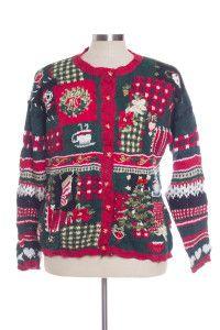 Multicolor Ugly Christmas Cardigan 29882