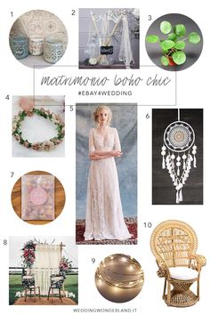 I must have per un matrimonio boho chic