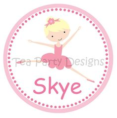 My Little Ballerina iron-on transfer for t-shirt/leotard to wear with tutu $5