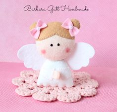 Barbara Handmade...: Mały aniołek / Little angel