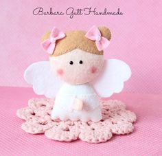 Barbara Handmade...: Mały aniołek / Little angel