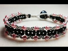 ▶ (Tutorial) Evening Love Bracelet (Video 74) - YouTube