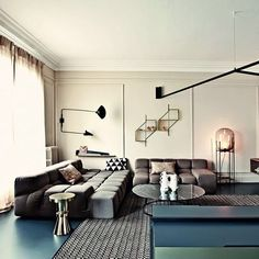 WEBSTA @ archiproducts - French metal rack, Paris, 2015 - @uda_architecture TUFTY TIME Sofa by @bebitalia design @patricia_urquiola ODA BIG by @pulpoproducts design @sebastianherkner Get inspired on Archiproducts.com #archiproducts #design #interiors