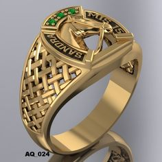Anillos De Quince Años Tungsten Wedding Bands, Wedding Ring Bands, Gold Plated Rings, Gold Rings, Mens Gold Diamond Rings, Mens Ring Designs, Horse Ring, Classic Gold, Engraved Rings