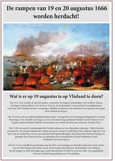 Het programma van 19 augustus 2016: de herdenkingsdag van de ramp van 1666.