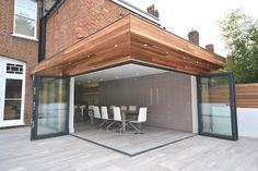 Clifton Road - Period refurbishment and modern extension contemporary-dining-room