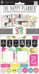 Nothing is easier than customizing your planner with stickers! This value pack features stickers that were designed to fit perfectly in the daily columns of your weekly view in The Happy Planner™. Eac