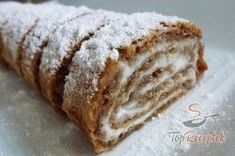 New Easy Cake : Nut roll WITHOUT flour and prepared in a few minutes, Breakfast Dessert, Paleo Dessert, No Bake Desserts, Healthy Desserts, Baking Recipes, Low Carb Recipes, Law Carb, German Baking, Low Carb Sweets