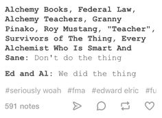 Ed, Al, please
