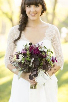 Who doesn't love a wine country wedding! We were so excited to produce this gorgeous gold and plum vineyard Paso Robles wine country shoot! Wedding Shoot, Fall Wedding, Rustic Wedding, Dream Wedding, Wedding Dresses, Vineyard Wedding, Bride Bouquets, Purple Wedding, Wedding Flowers