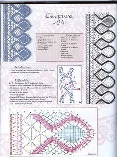Archivo de álbumes Bobbin Lace Patterns, Lacemaking, Needle Lace, Lace Design, Textile Art, Crochet, Free Pattern, Diy And Crafts, Projects To Try