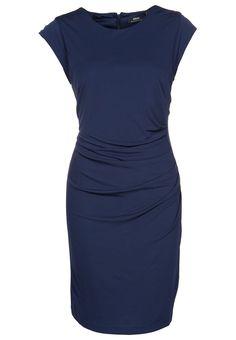 Zakelijke jurk - Blauw