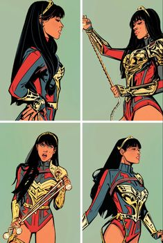 is this it? — Yara Flor in Future State - Wonder Woman #1