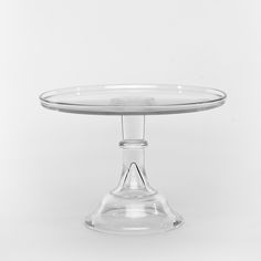 "12"" Crystal Antique Cake Stand, possible replacement for the one Christy broke, they have a graduated set of three as well"