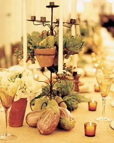 Vegetable Centerpiece Ideas — Wedding Ideas, Wedding Trends, and Wedding Galleries.weddingsbylilly.com