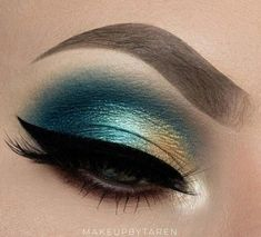 You are in the right place about bronze eyeshadow palette Here we offer you the most beautiful pictu Makeup Eye Looks, Eye Makeup Art, Blue Eye Makeup, Makeup For Brown Eyes, Makeup Inspo, Makeup Ideas, Makeup Tricks, Eye Makeup Glitter, Gold Eyeshadow