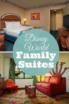 Are you looking for larger value rooms at Walt Disney World? My comparison of Disney's Art of Animation Resort Family Suites versus Disney's All-Star Music Family Suites. Value rooms for larger families on your next Walt Disney World vacation.