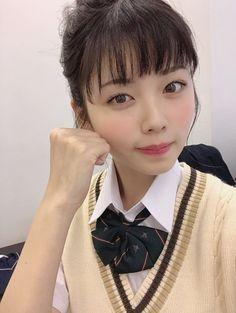 小柴風花 制服 School Uniform Girls, Girls Uniforms, Japan Girl, Asian Beauty, Pretty Girls, Cool Girl, Beautiful Women, Kawaii, Actresses