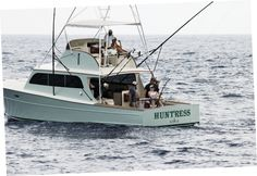 Choate fighting what would prove to be the winning fish in this year's Blue Marlin World Cup.