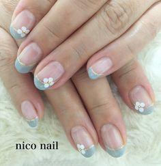こんにちは、nico nail です。   今回のお客様は、T 様 です。     可愛いデザインが好きなT 様...