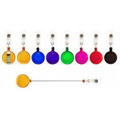 LUKY-Yoyo porta gafetede color traslúcido