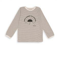 "T-shirt ""Don't worry it's winter"" mastic - top Garçons Filles - BONTON"