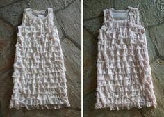 DIY Ruffle dresses