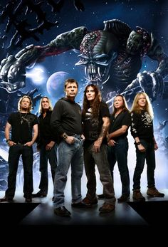 Iron Maiden can draw thousands of fans to one show
