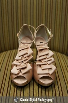 Champagne bridal heels | Classic Digital Photography | villasiena.cc