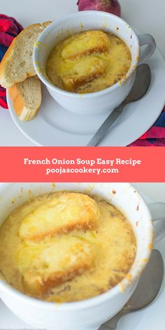 What is French onion soup? The other day, I went to this American restaurant with family and ordered French Onion Soup as starter. Oh my god, I loved it so much and that moment , decided to try out at home. Did some research on it and found out that it is a French delicay, where onions are nicely caramelized and infused with thyme and beef or chicken broth. It is then topped with crusty bread and Gruyere cheese and then broiled for few minutes in the oven to get melted , bubbly top. There…