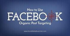 How to Use Facebook Organic Post Targeting #facebookorganic #facebookseo #ranjithseo