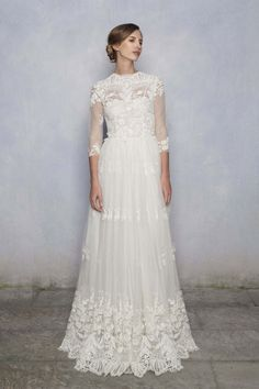 The Luisa Beccaria Spring Summer 2014 collection. Princess Lace Wedding Gowns