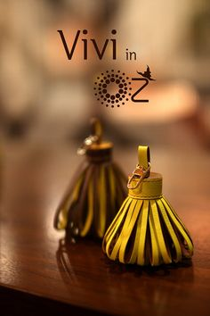 Luxury leather flower tassel from Vivi in Oz by ViViinOz on Etsy