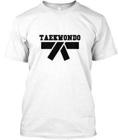 This is our MOST POPULAR T-Shirt design of all time!  This is simple, elegant and looks always good on Taekwondo practitioners of all shapes and sizes. Wear it on the street, gym, school, work or dojang. And look your best!  All the T-Shirts are made on high quality material and Teespring ensures professional printing, which millions of people has trusted before.