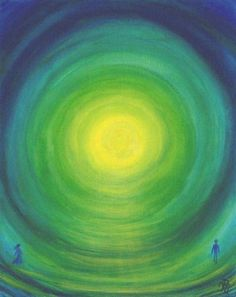 4e Chakra Green and love ... Only when loving yourself, you heart will open for others