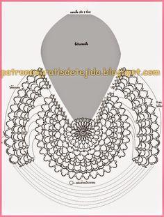 Crochet Scrubbies - How to crochet bolero shrug jacket free pattern tutorial easy Crochet Coat, Crochet Tunic, Freeform Crochet, Crochet Motif, Crochet Clothes, Crochet Lace, Crochet Stitches, Chevron Crochet Patterns, Doily Patterns