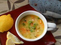 Mmm, Salmon & Sweet Potato Chowder - both grain and dairy free!