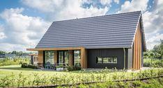 Woning Lemele Cynthia van den Brom House Plans, Ramen, Cottage, House Design, House Styles, Outdoor Decor, Modern, Home Decor, Black House