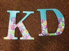KD Lilly letters