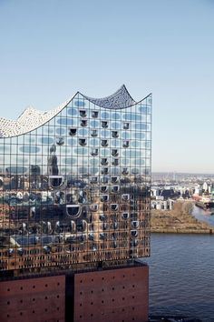 Designed by Swiss architecture firm Herzog & de Meuron, the Elbphilharmonie will open its doors on January 11 and 12, 2017 in Hamburg's HafenCity, Germany. It will be the tallest inhabited building in Hamburg, with a final height of 110 m (360 ft).