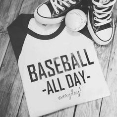 Baseball. All day Everyday Baseball mom by LondonLabelDesign