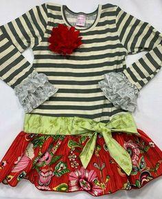 Sara Sara Neon Girls/' Pink Blue Floral Dress Size Baby 18 Months or Toddler 3T