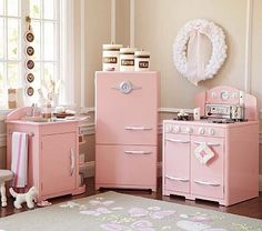 Pink Retro Kitchen Collection #pbkids