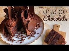 TORTA DE CHOCOLATE HÚMEDA Y ESPONJOSA - YouTube Dory, Cheesecakes, Chocolate Fondue, Fondant, Bakery, Pudding, Tasty, Ethnic Recipes, Sweet