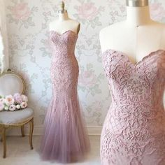 Elegant Strapless Charming Prom Dress Mermaid by ModelDressy on Zibbet Stunning Prom Dresses, Pink Prom Dresses, A Line Prom Dresses, Mermaid Prom Dresses, Homecoming Dresses, Evening Dresses, Formal Dresses, Prom Gowns, Mermaid Sweetheart
