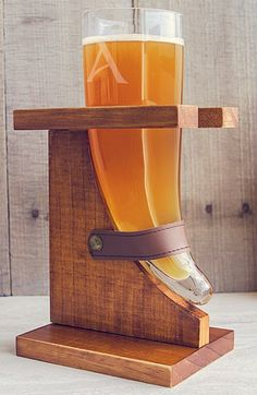 Cathy's Concepts Personalized 'Viking Horn' Beer Glass & Holder available at #Nordstrom