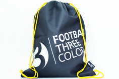Football3Color Gymbag - perfect for kids for carrying football3color soccerboots, ball and cones!