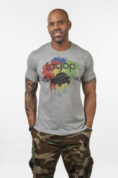 Paintball Tee. Quality Men's T-Shirt Design. Made in the USA. Live at your Own Pace. www.layop.com